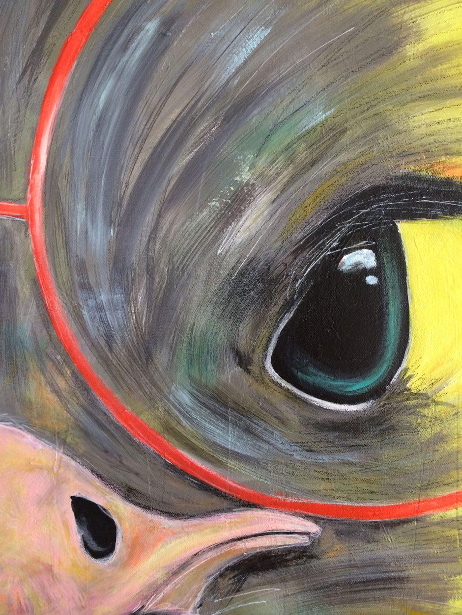 Artiste Mëro - Autruche Let Me See 007