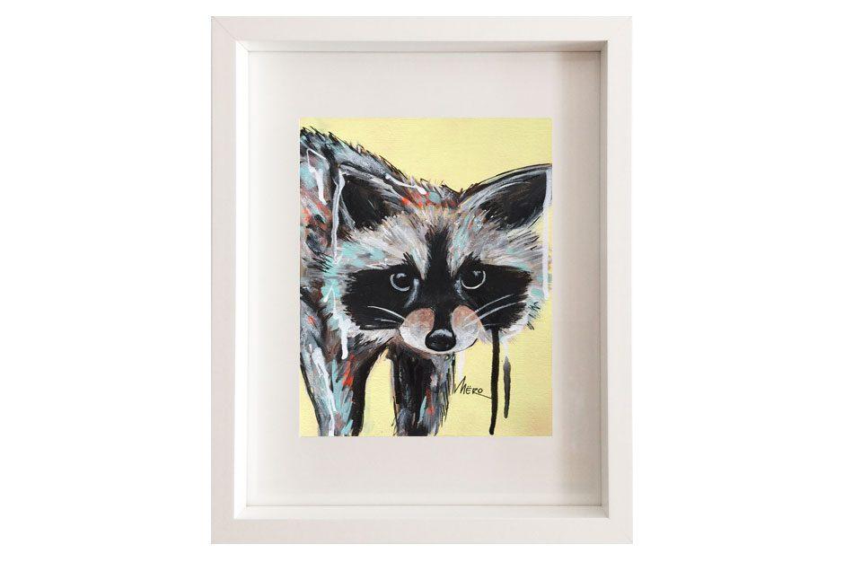 Artiste peintre Mëro-Raton-le ratoureux